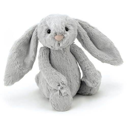 Jellycat Bashful Hase Silber Groß - 36cm