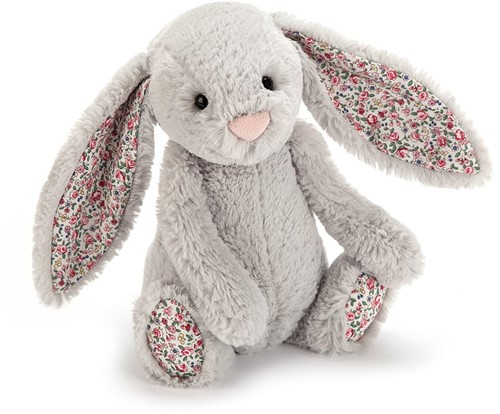 Jellycat  Hase Blossom Silber Baby - 13cm
