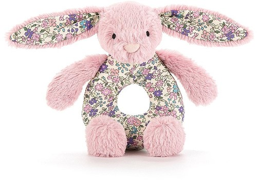 Jellycat Greifring Hase Blossom Tulpe - 13cm