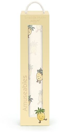 Jellycat Amuseable Ananas Wickeltuch - 120cm