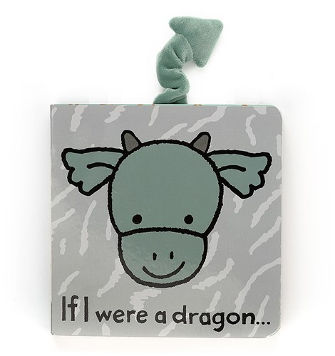 Jellycat If I were a Dragon Buch - 15cm