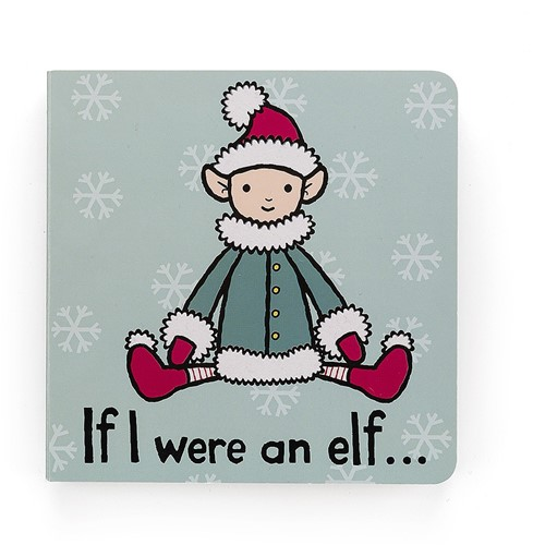 Jellycat If I were an Elf Board Buch - 15cm