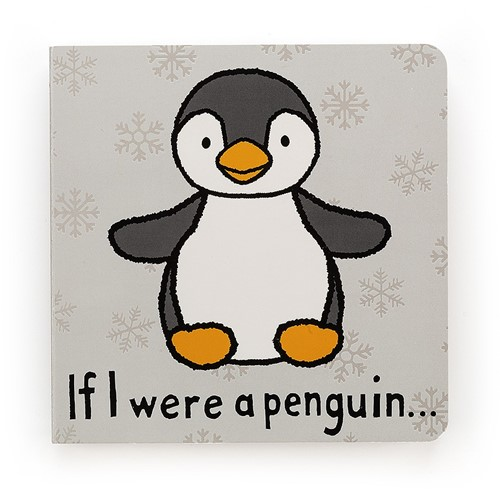 Jellycat If I were a Penguin Buch - 15cm