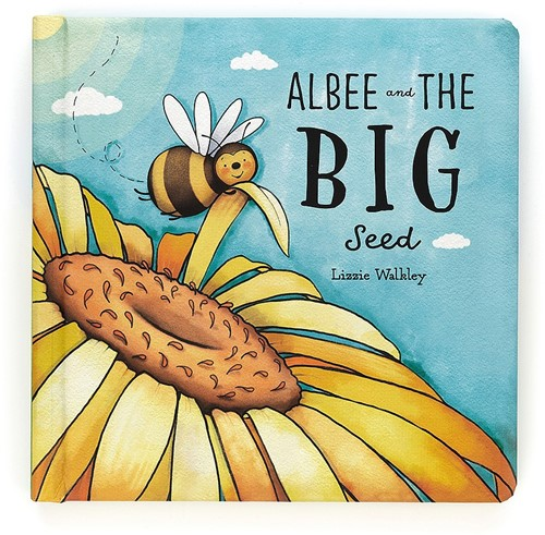 Jellycat Albee And The Big Seed Buch - 19cm