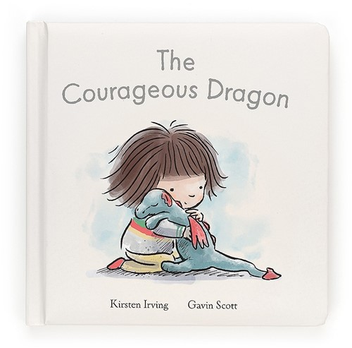 Jellycat The Courageous Dragon Buch - 19cm