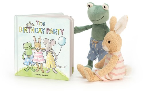 Jellycat The Birthday Party Book - 19cm-3