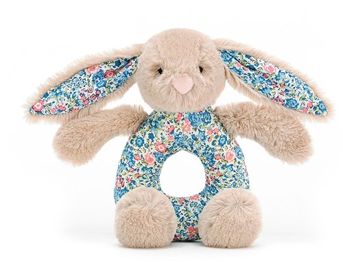 Jellycat Hase Blossom Beige Greifring - 13cm