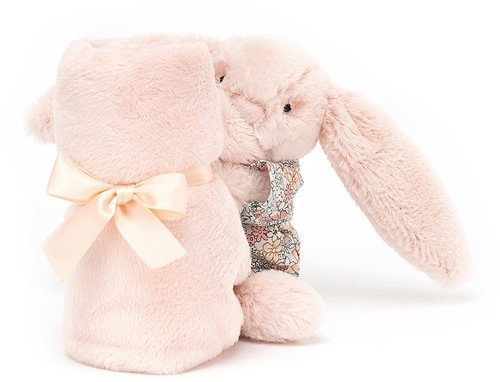 Jellycat Bedtime Hase Blossom Rosig Schnuffeltuch - 34cm