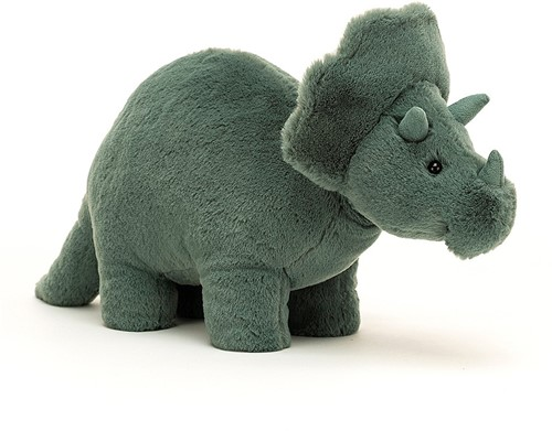 Jellycat Fossilly Triceratops - 17cm