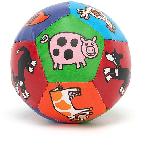 Jellycat Farm Tails Boing Ball - 10cm