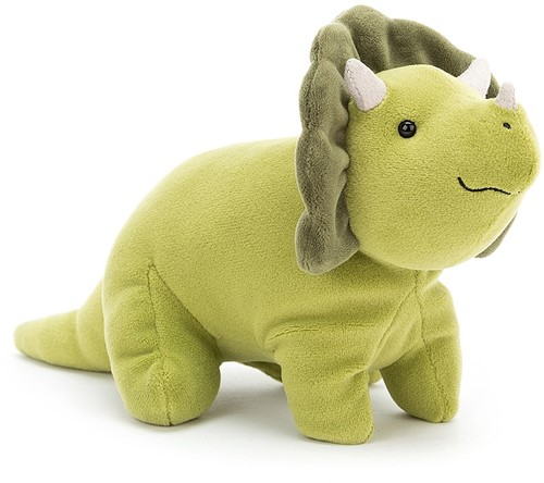 Jellycat Mellow Mallow Triceratops Klein - 18cm