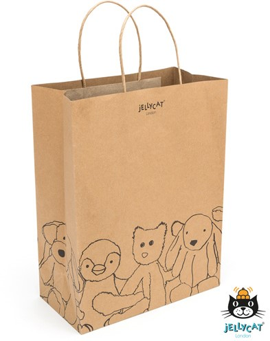 Jellycat Jellycat Craft Paper Bag - Pack of 20 - 0cm