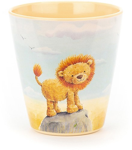 Jellycat The Very Brave Lion Melaminbecher-2