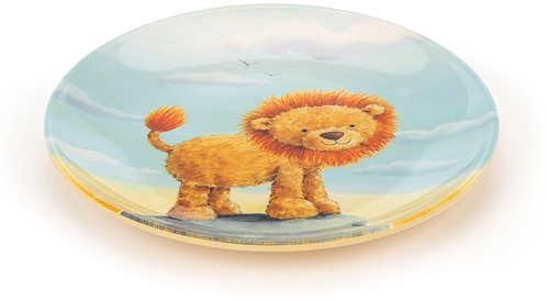 Jellycat The Very Brave Lion Melaminteller-2