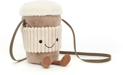 Jellycat Amuseable Coffee-To-Go Tasche - 22x13cm