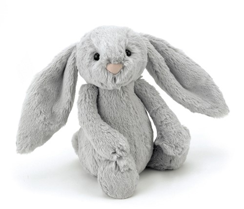 Jellycat  Bashful Hase Silber Sehr Groß - 53cm