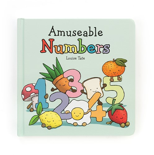 Jellycat Amuseable Numbers Buch - 17cm