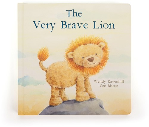 Jellycat The Very Brave Lion Buch