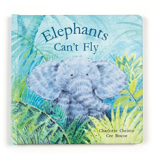 Jellycat Elephants Cant Fly Buch