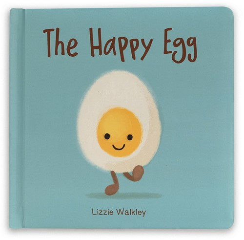 Jellycat The Happy Egg Buch - 19x19cm
