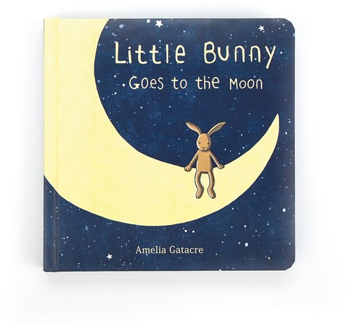 Jellycat Little Bunny Goes to the Moon Buch