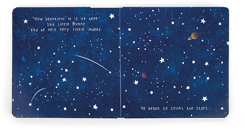 Jellycat Little Bunny Goes to the Moon Buch-3