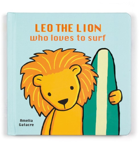 Jellycat Leo The Lion Who Loves to Surf Buch
