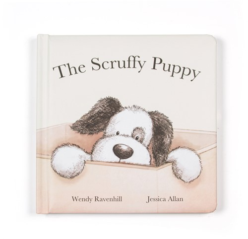 Jellycat Scruffy Puppy Buch
