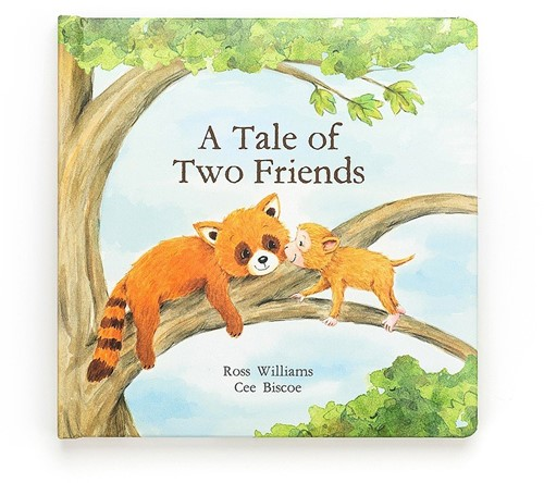 Jellycat Buch (Englisch) The Tale Of Two Friends Book - 23cm
