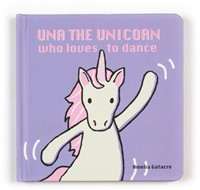 Jellycat Una The Unicorn Who Loves to Dance Buch