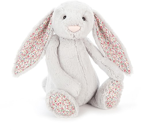 Jellycat Hase Blossom Silber Groß - 36cm