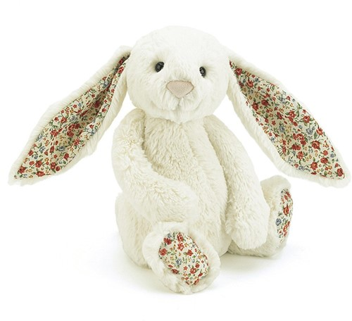 Jellycat  Hase Blossom Cremefarben Baby - 13cm