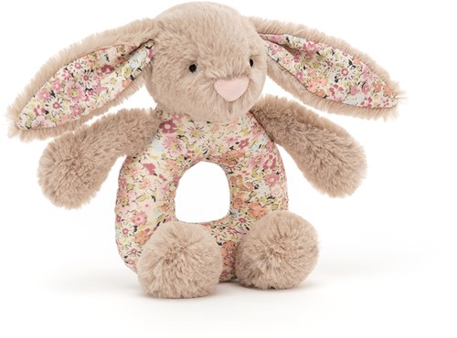 Jellycat Hase Blossom Beige Greifring - 13x8cm