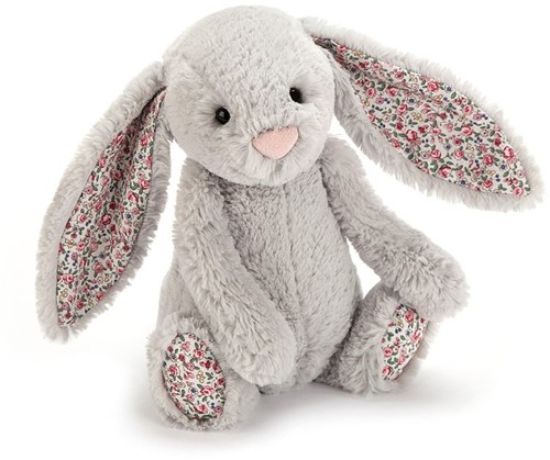 Jellycat  Hase Blossom Silber Klein - 18cm