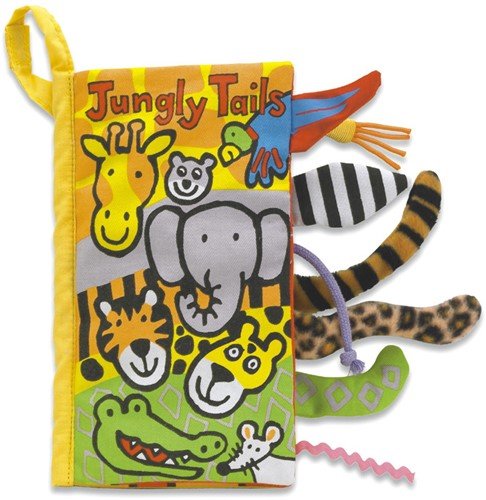 Jellycat Tails Jungly Buch - 21cm
