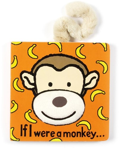 Jellycat If I were a Monkey Buch - 15cm