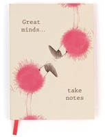 Jellycat Flaunt Your Feathers Great Minds Notizbuch Liniert-2