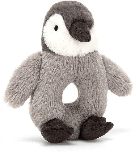 Jellycat Percy Pinguin Greifring - 13cm