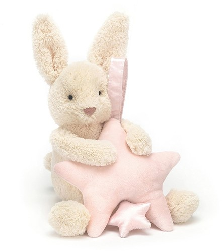 Jellycat Star Hase Rosa Spieluhr