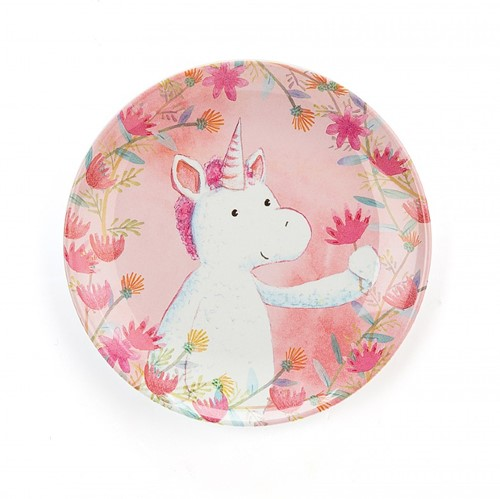 Jellycat Unicorn Dreams Melaminteller